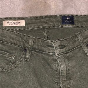 Army Green AG jeans